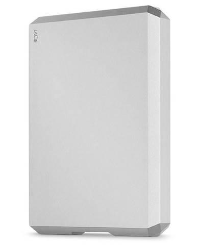 Externý pevný disk Lacie Mobile Drive 5TB, USB-C strieborný