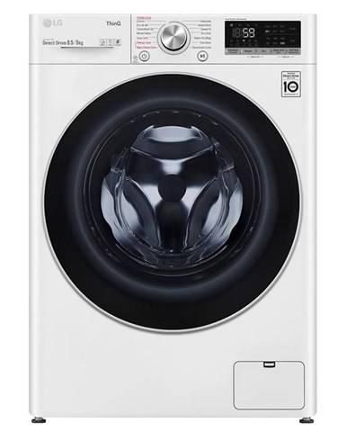 Práčka so sušičkou LG F2dv5s8s1 biela