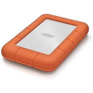 Externý pevný disk Lacie Rugged Mini 2TB, USB 3.0 oranžový