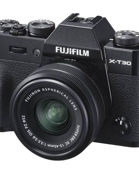 Fujifilm Digitálny fotoaparát Fujifilm X-T30 + XC15-45 mm čierny
