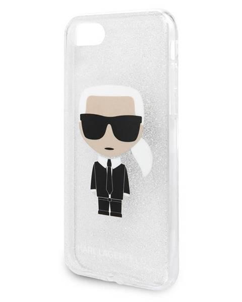 Karl Lagerfeld Kryt na mobil Karl Lagerfeld Glitter Ikonic na Apple iPhone 8/SE