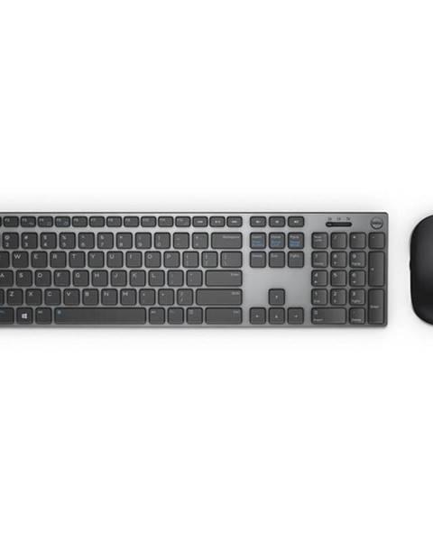 Dell Klávesnica s myšou Dell KM717 čierna/sivá