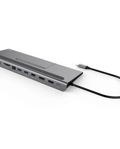 Dokovacia stanica i-tec USB-C Metal Low Profile 4K Triple Display