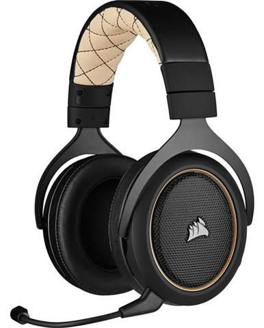 Headset  Corsair HS70 Pro Wireles čierny/béžový