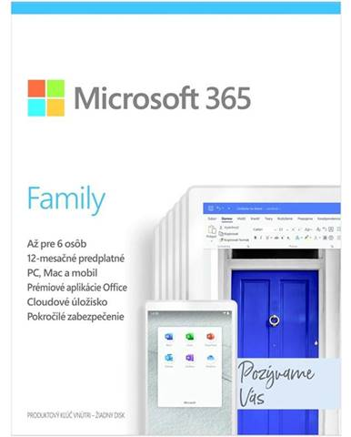 Software  Microsoft 365 Family SK