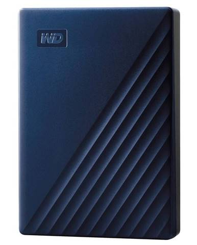 Externý pevný disk Western Digital 5TB pro Mac modrý