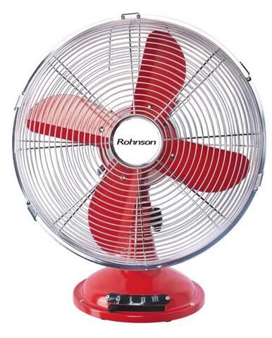 Ventilátor stolový Rohnson R-864 červen
