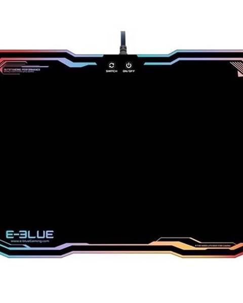 E-Blue Podložka pod myš  E-Blue RGB, 36,5 x 26,5 cm čierna