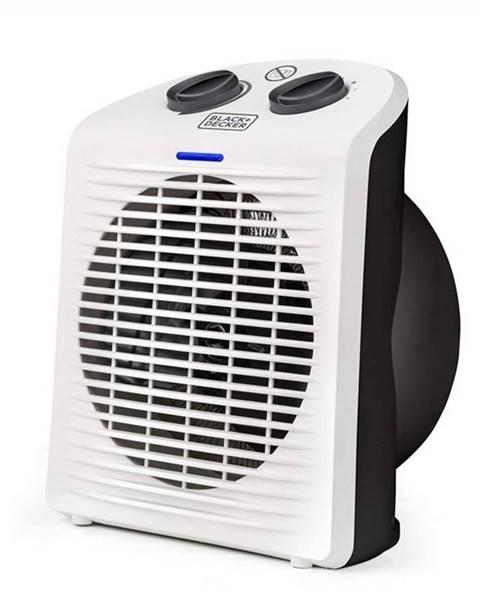 Black+Decker Teplovzdušný ventilátor Black+Decker Bxsh2000e biely