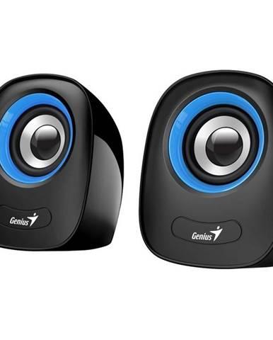 Reproduktory Genius SP-Q160 čierne/modré