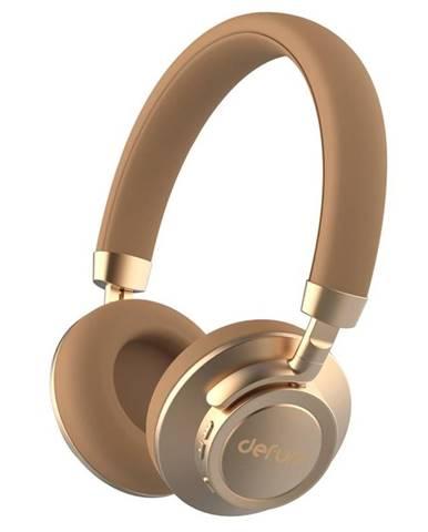 Slúchadlá Defunc BT Headphone Plus zlatá/béžov