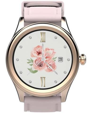Inteligentné hodinky Carneo Prime GTR woman ružové/zlaté
