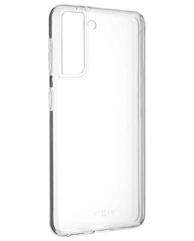 Kryt na mobil Fixed na Samsung Galaxy S21 5G priehľadný