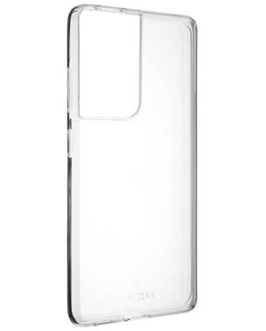 Kryt na mobil Fixed na Samsung Galaxy S21 Ultra 5G priehľadný