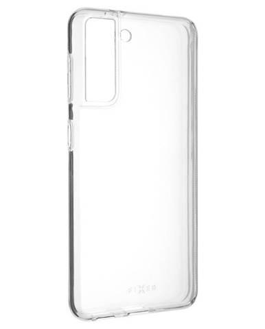 Kryt na mobil Fixed Skin na Samsung Galaxy S21 5G priehľadný
