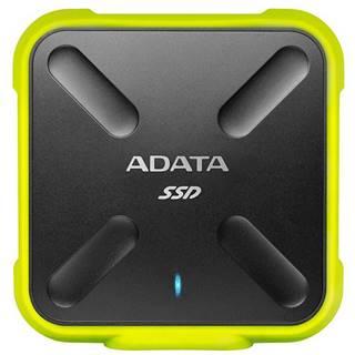 SSD externý Adata SD700 1TB čierny/žltý
