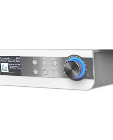 Internetový rádioprijímač Soundmaster Ir1450we strieborný/biely