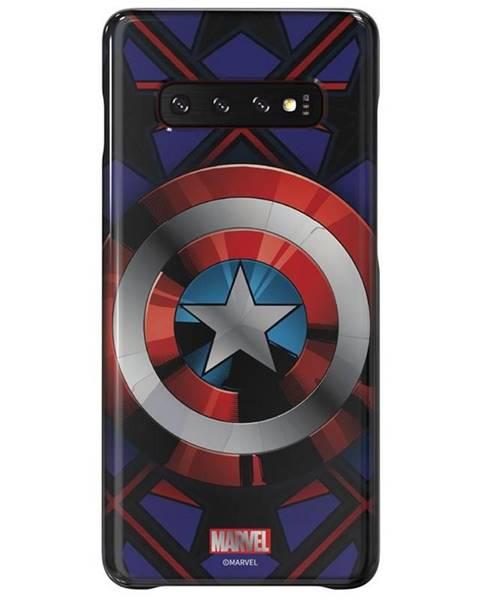 Samsung Kryt na mobil Samsung Captain America na Galaxy S10+ čierny