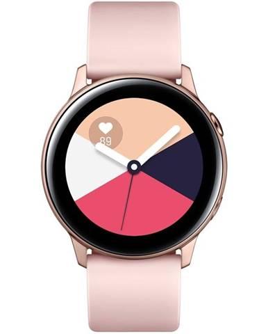 Inteligentné hodinky Samsung Galaxy Watch Active ružová/zlatá