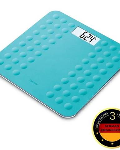Osobná váha Beurer Gs300turq modr