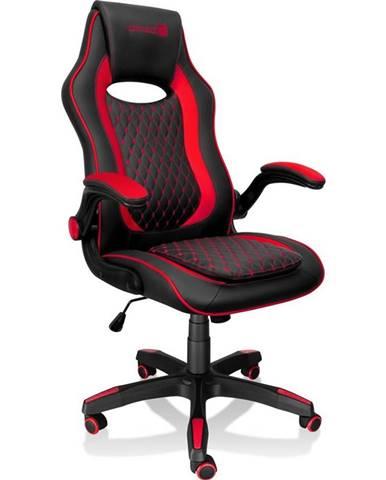 Herná stolička Connect IT Matrix Pro čierna/červená