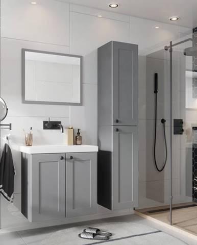 Artstolk Kúpeľňová zostava SENJA sivá Varianta