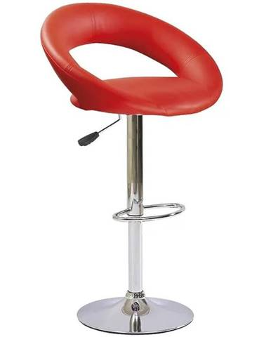 Barová stolička Flex červená