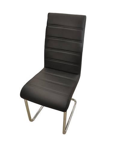 Stolička Eos čierna