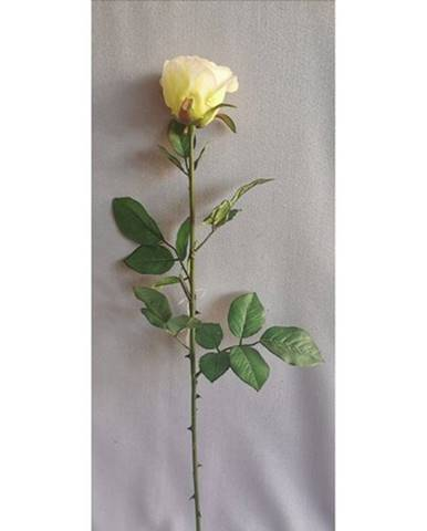 Umela ruža biela, 69 cm