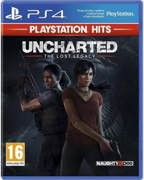 Sony Sony PS4 hra Uncharted The Lost Legacy