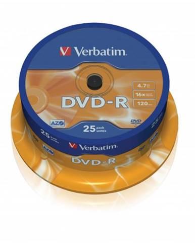 Verbatim DVD-R 4,7GB 16x, 25ks