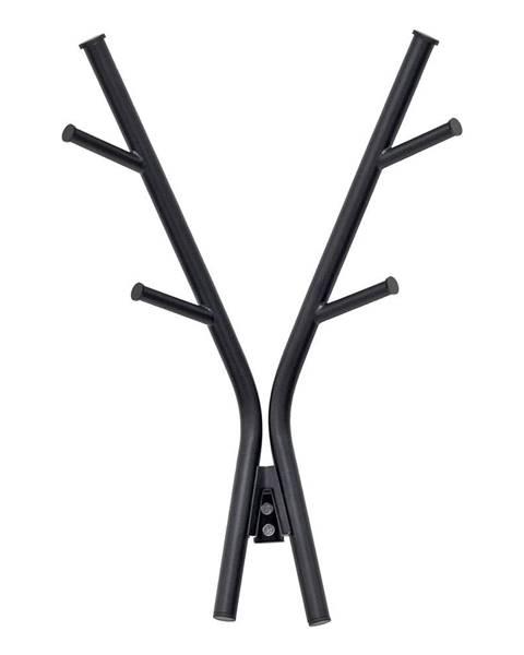Leitmotiv Nástenný vešiak v čiernej farbe Leitmotiv Deer