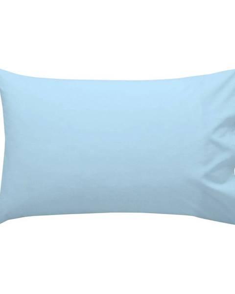 Happy Friday Basic Modrá bavlnená obliečka na vankúš , 40 × 60 cm