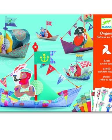 Set origami z nepremokavého papiera s príslušenstvom Djeco Lode
