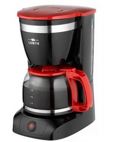 Prekvapkávací kávovar Lentz 20147, čierno-červený%
