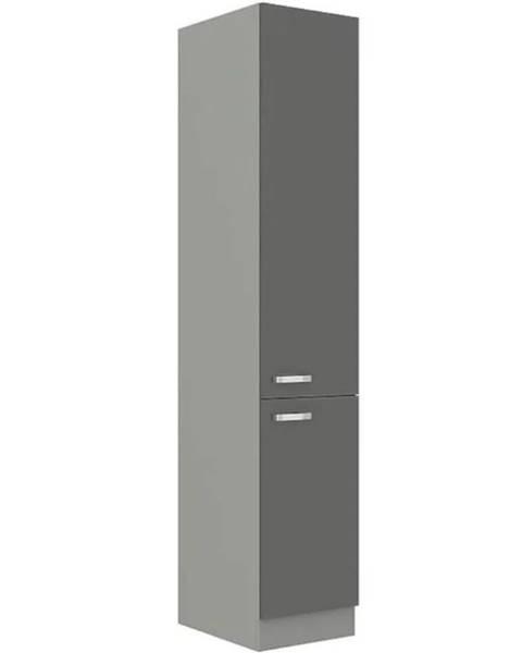 MERKURY MARKET Skrinka do kuchyne Grey 40DK-210 2F