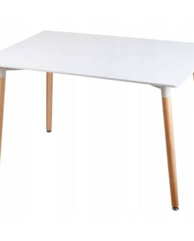 Stôl Bergen biely 140cm