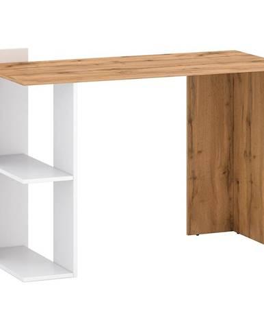 Písací stôl Stil 1 votan/biely