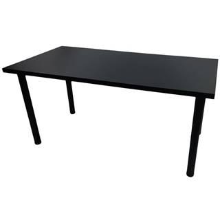 Písací Stôl Pre Hráča 136x66x18 Model 0 čierna Low