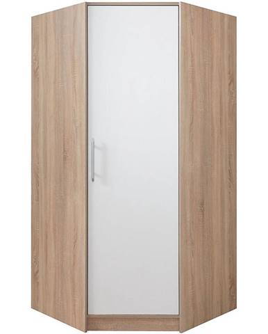 Skriňa Smart SR4 95 cm dub sonoma/biela