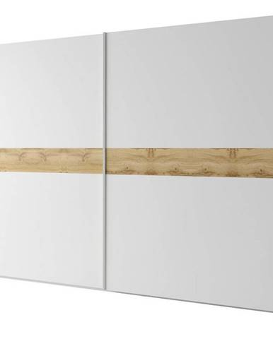 Skriňa Gamma 300 cm dub wotan/biela
