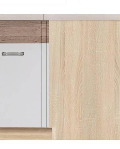 Skrinka do kuchyne Econo 15D Sonoma/Biely/San Remo
