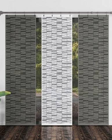 Forbyt Japonská stena Atlas sivá, 50 x 240 cm