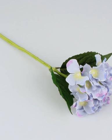 Umelá hortenzia modrá, 36 cm