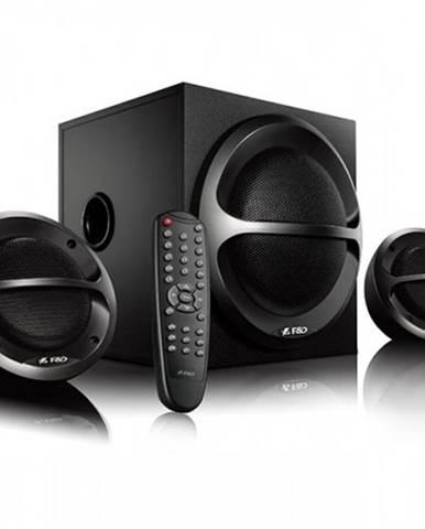Reproduktory Fenda F&D A111X, 2.1, 35 W, Bluetooth, čierne