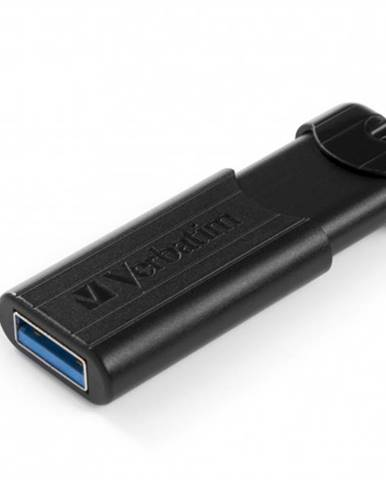 VERBATIM Store 'n' Go PinStripe 64 GB USB 3.0 čierny