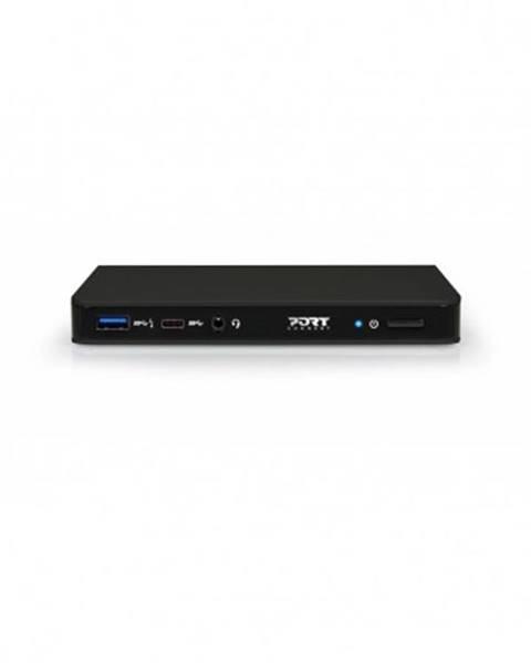 PORT CONNECT Dokovacia stanica PORT CONNECT 8v1 USB-C, Ethernet, DP, audio
