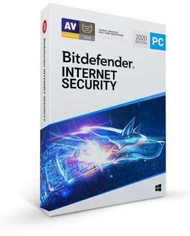Antivírus Bitdefender Internet Security, 1 PC, 1 rok, OEM