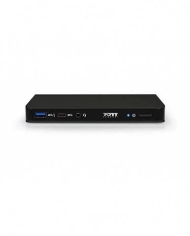 Dokovacia stanica PORT CONNECT 8v1 USB-C, Ethernet, DP, audio