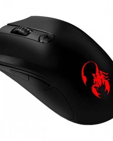 Drôtová myš Genius GX X-G600, 1600 dpi, čierna + Zdarma podložka Olpran